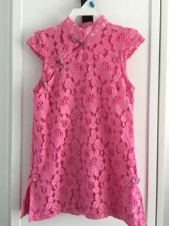 Girl's Lace Chinese dress size 3-4