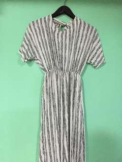 Striped Wide-legged jumpsuit