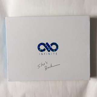 INFINITE SHE'S BACK [LIMITED EDITION] (CD+DVD+PHOTOBOOK)