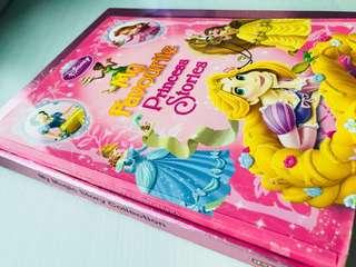 Barbie Hardcover & Disney Princess Stories