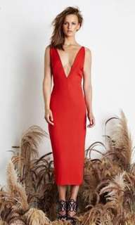 Maurie & Eve Red Dress