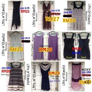 Shopaholic dresses
