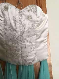 Hand made corset