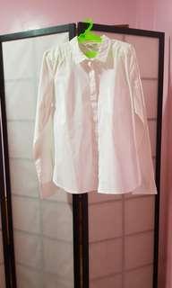H&m white poloshirt
