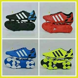 Sepatu bola soccer adidas 11 pro pria terbaru 2018 murah branded hitam merah kuning biru