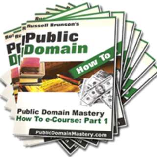 The Public Domain Report: Learn How To Profit From Material In The Public Domain (13 Mega eBooks)