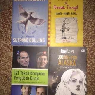 Novel Terjemahan Inggris Indonesia