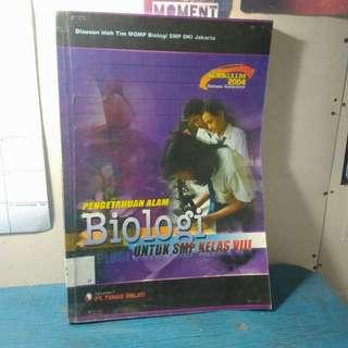 Buku Paket Pengetahuan Alam Biologi untuk SMP Kelas VIII