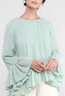 AERE flowy blouse