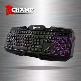 """Champ Gaming Keyboard """"Order now"""" Guaranteed Spill Proof!"""