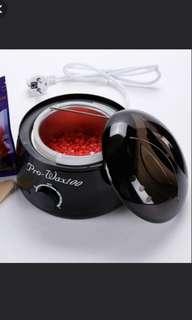New wax heater with 100gm wax bean 60ml after wax lotion 10 spatulas