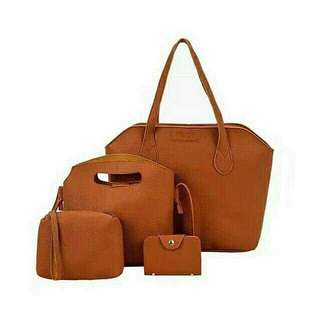 4 in 1 Ladies Bag Set