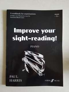 Improve your side-reading Piano grade 8