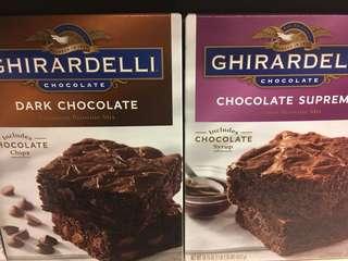 Ghirardelli brownie/ cookie/ cake mix