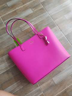 Authentic Kate Spade bag (hot pink)