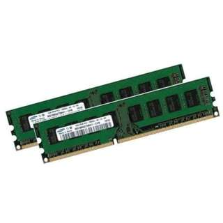 Original Samsung Dual Channel Kit DDR3 1333 8GB 4GBx2