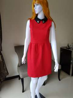 Dress elegant red