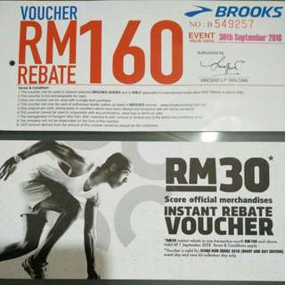 Brooks and many vouchers