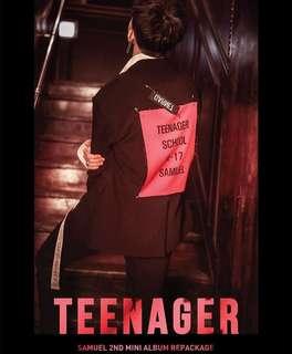 Samuel 2nd Mini Album Repackaged - ' Teenager '