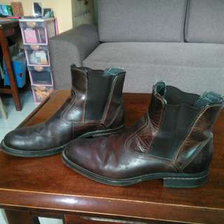 Original Bass leather half boots