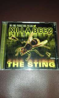 WU Tang Present Killa Beez The Sting 2 CD with Bonus tracks USA pressing Rap, RZA, Inspectah Deck, Ghostface killah