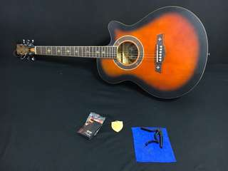 Crusader Acoustic Guitar