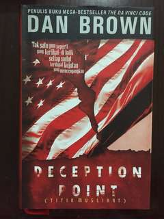 Dan brown - Deception Point hardcover