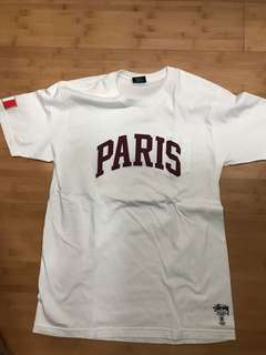 Stussy paris tee like brand new LARGE