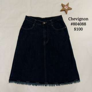 Chevignon denim skirt