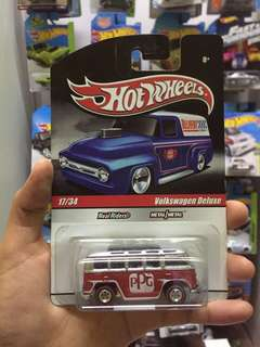 Hot Wheel Volkswagen Deluxe Real Riders Hotwheels