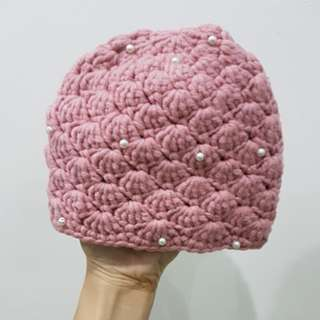 NEWBORN CROCHET BEANIE FOR PHOTOSHOOTS