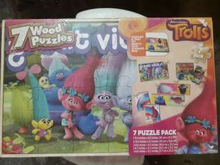 Trolls Wood Puzzle