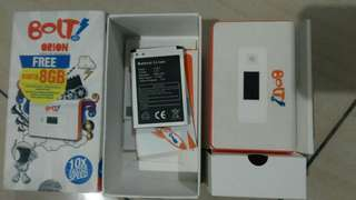 Bolt Orion Movi Max model MV1 sudah unlock gsm 3G