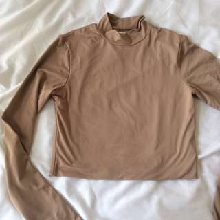 Long Sleeve Slinky Top