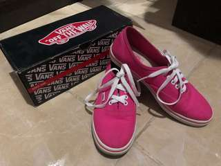 Vans original size 38 Pink