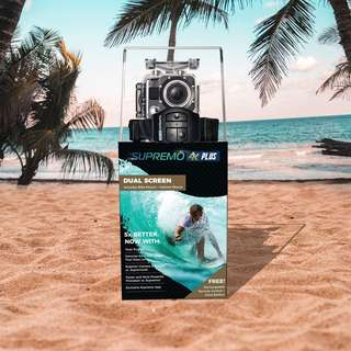 Action camera Best Seller! Supremo 4K Plus Action Camera Order now!