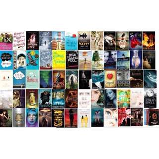 English Novels (eBooks) for sale