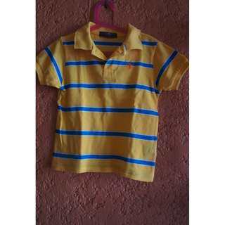 SET OF BRANDED POLO SHIRTS (3pcs)