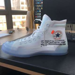 OFF White x Converse Chuck Taylor 1970s US10 / 10.5