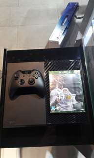 Xbox One 500GB With FIFA 18(New)