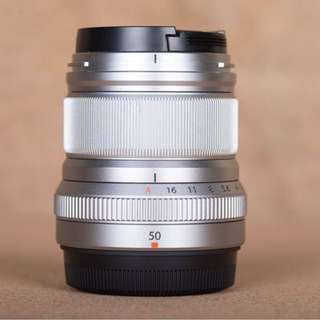 Fujifilm 50mm f/2 Silver | Fuji PH unit with warranty | Mint condition