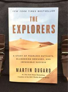 《New Book Condition + Learning The 7 Insipring Character Traits of The 2 Nile River Explorers》Martin Dugard - THE EXPLORERS: A Story of Fearless Outcasts, Blundering Geniuses, and Impossible Success