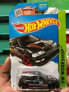 Hot Wheel 90 Honda Civic EF Hotwheels