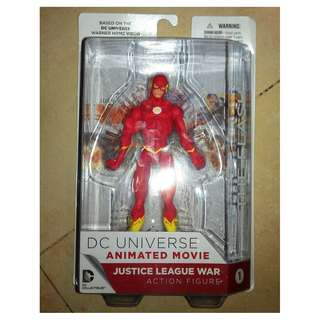 DC Collectibles DC Animated Movie Justice League War #1 The Flash Action Figure MISB MOSC