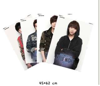 CNBlue blue night poster set