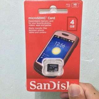 Original SanDisk Micro SD