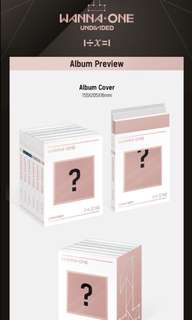 WANNA ONE: UNDIVIDED ORDER FORM
