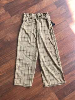 Checker Brown Pant