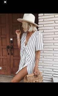 Sabo Skirt Tienne Stipe Dress
