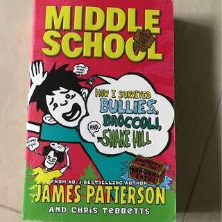 Middle school James Patterson